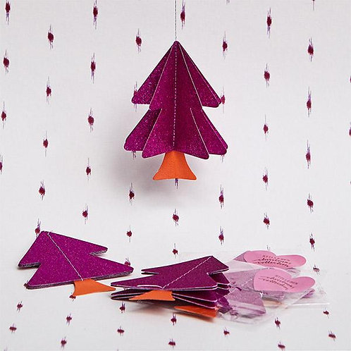 Stilleben - Christmas Collection Tree Pink Glitter