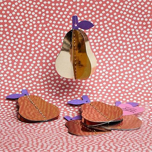 Stilleben - Christmas Collection Pear Gold