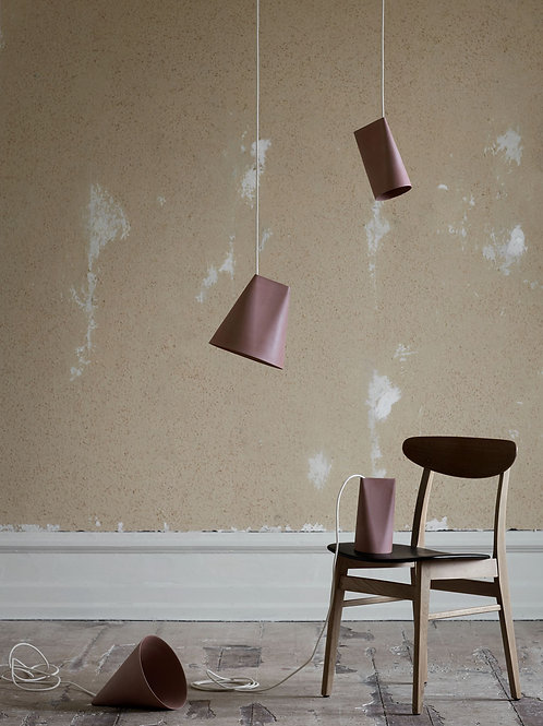 Moebe Ceramic Lamp - Wide Terracotta