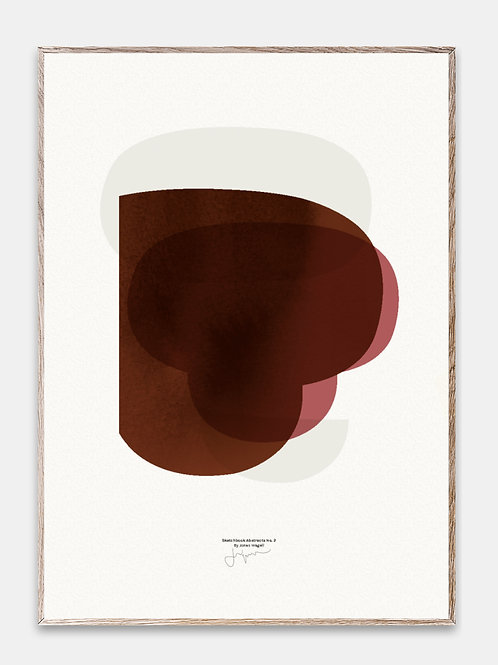 Paper Collective Poster Bilderrahmen Rahmen  Illustration