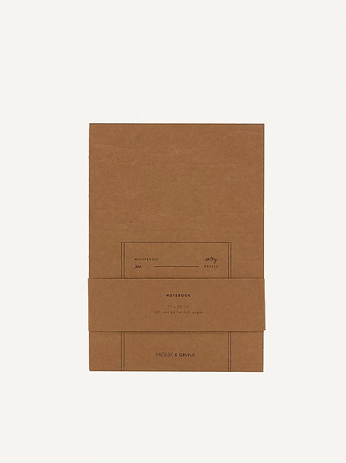 Monk & Anna - Notebook Kraft