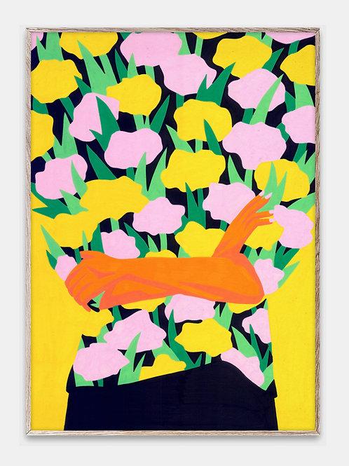 Paper Collective Poster Bilderrahmen Rahmen Blumen Illustration