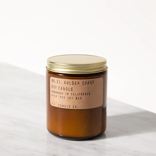 P.F. Candle Co. No. 21 Golden Coast Standard Duftkerze
