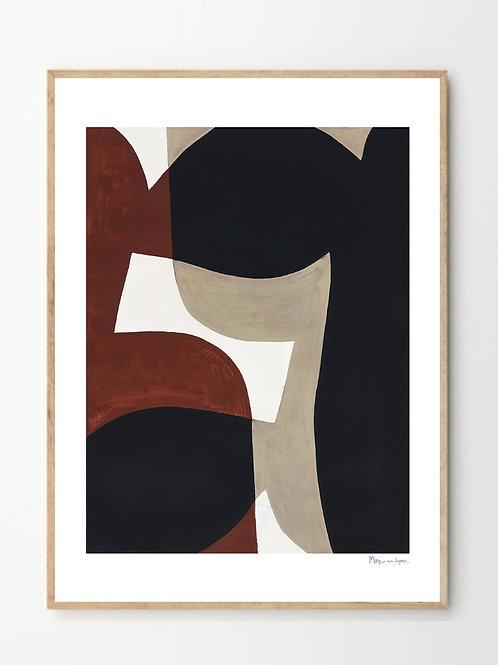 Berit Mogensen - Connected Shapes No 1