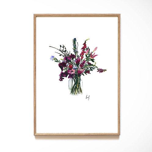 Leo La Douce - Flower Violet