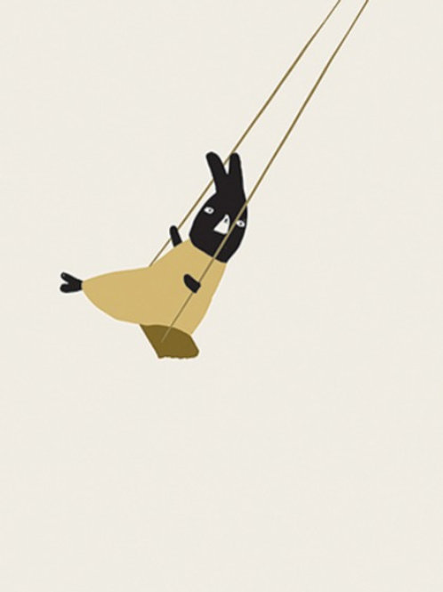 Swing Kinder A4 Poster - Ted & Tone