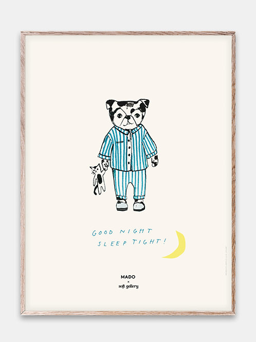 Paper Collective Poster MADO Kinder Bilderrahmen Rahmen Bär