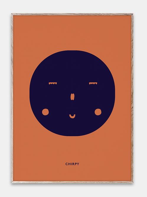 Paper Collective Poster Mado Gesicht Mond