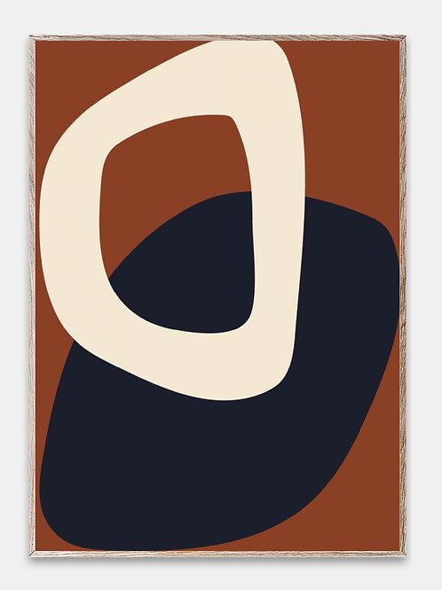 Paper Collective Poster Bilderrahmen Rahmen Kreise Illustration
