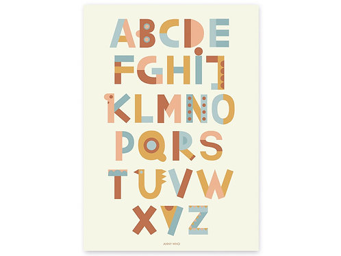 Anny Who A bis Z Kinderposter