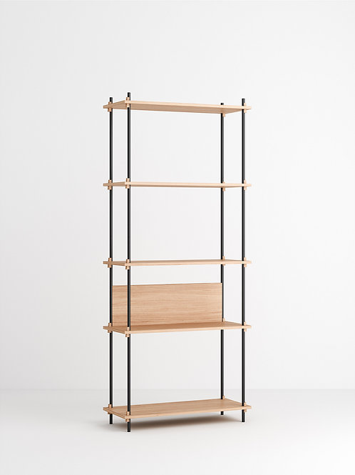 MOEBE Shelving System - Tall Single Eiche geölt