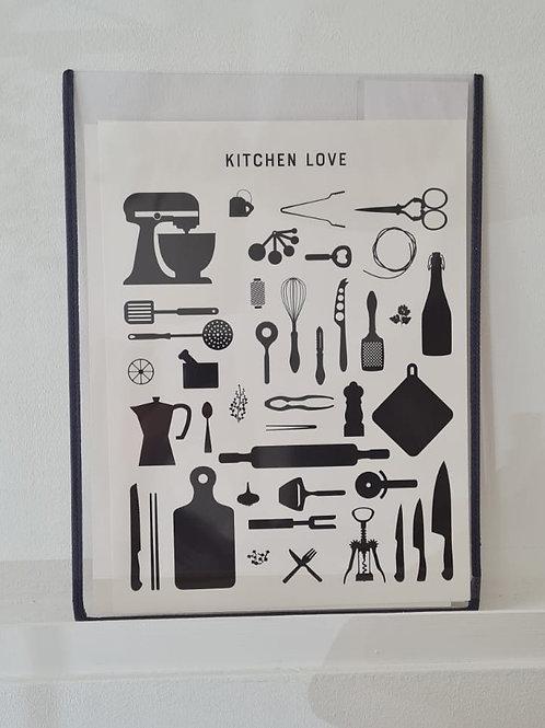 Kitchen Love 30x40 SUPERSALE