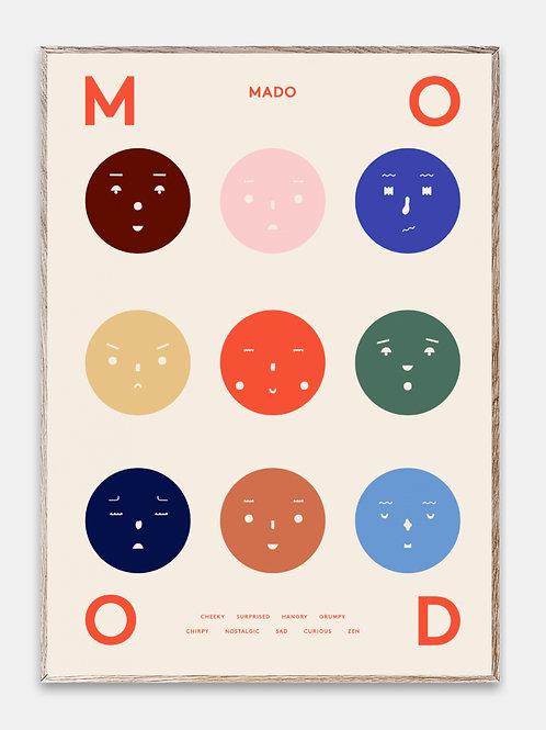 Paper Collective Poster MADO Kinder Bilderrahmen Rahmen Gesichter
