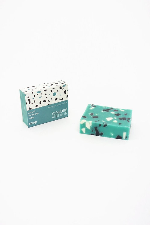 Coudre Berlin Handcrafted natural soap bar green