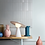 Moebe Kopenhagen Ceramic Lamp Lampe Pendelleuchte Licht