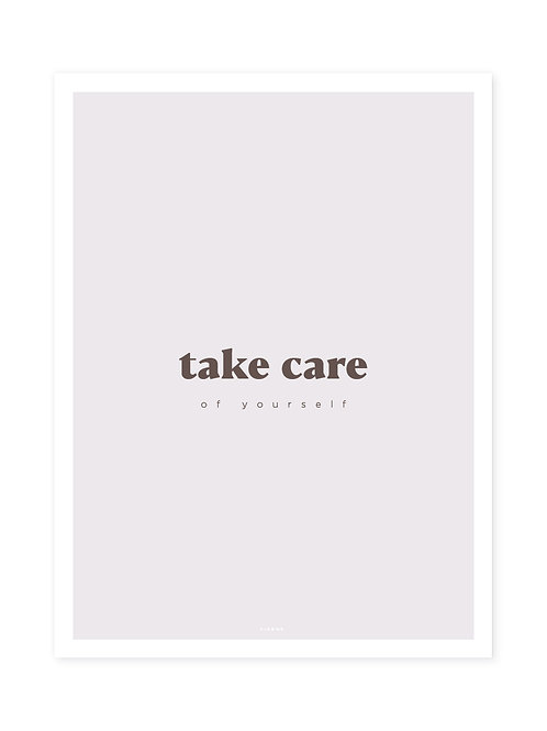 Take Care Brown -Viewme Type Collection