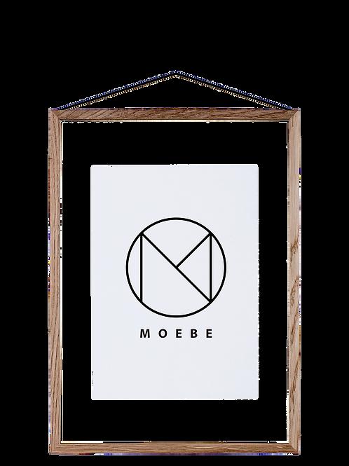 Moebe Frame Bilderrahmen Eiche Oak Holz Poster