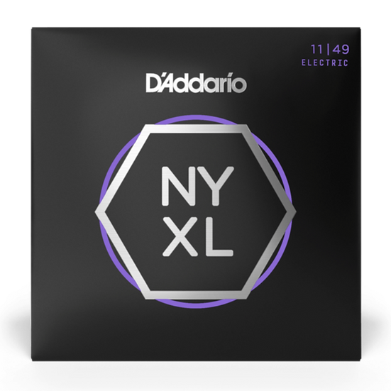 D'Addario NYXL 11-49 Electric Guitar Strings