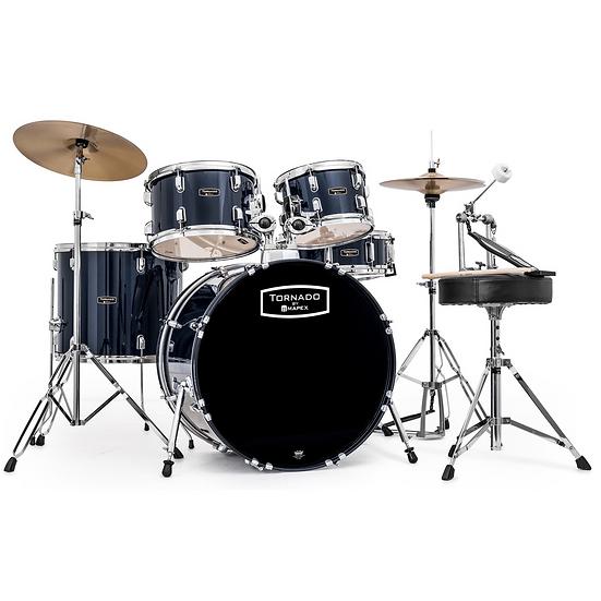 "Mapex Tornado III 22"" Rock Fusion Kit Blue"