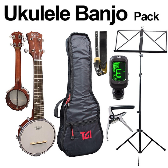 Ukulele Banjo Package