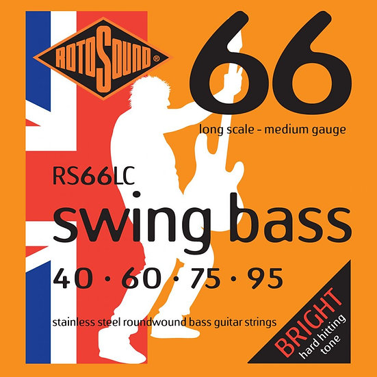 Rotosound RS66LC Swing Bass 40-95 Bass Strings