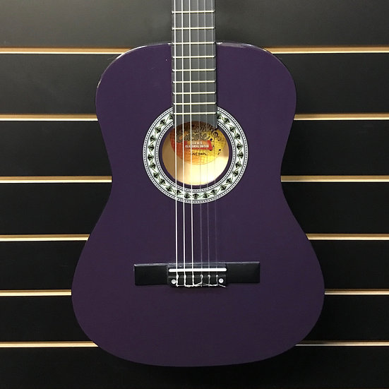 Encore 3/4 Size Classical Guitar Pack Purple