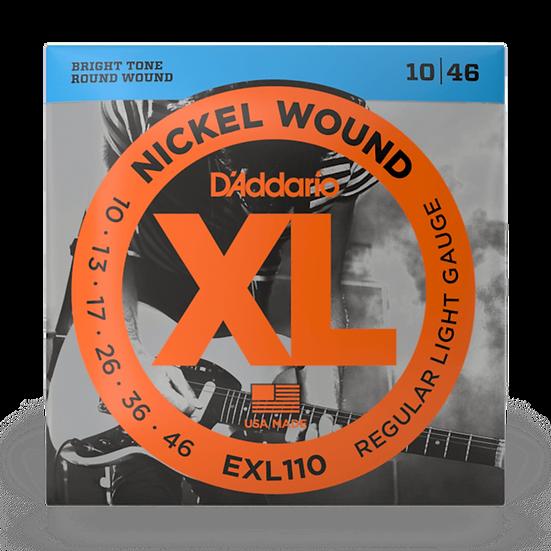 D'Addario EXL110 10-46 Electric Guitar Strings