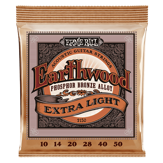 Ernie Ball Earthwood 10-50 Phospher Bronze Acoustic Guitar Strings