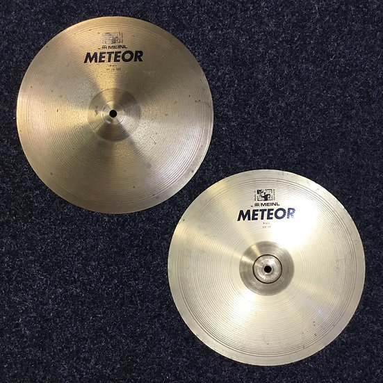 "Meinl Meteor Hi-Hats 14"" (Preowned)"