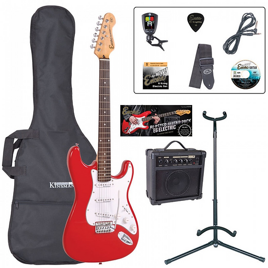 Encore E6 Electric Guitar Package
