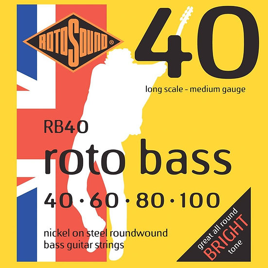 Rotosound RB40 Roto Bass 40-100 Bass Strings
