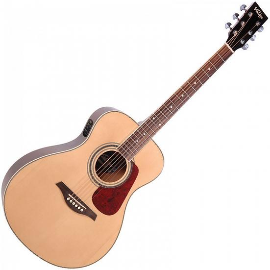 Vintage VE330 Electro-Acoustic Guitar
