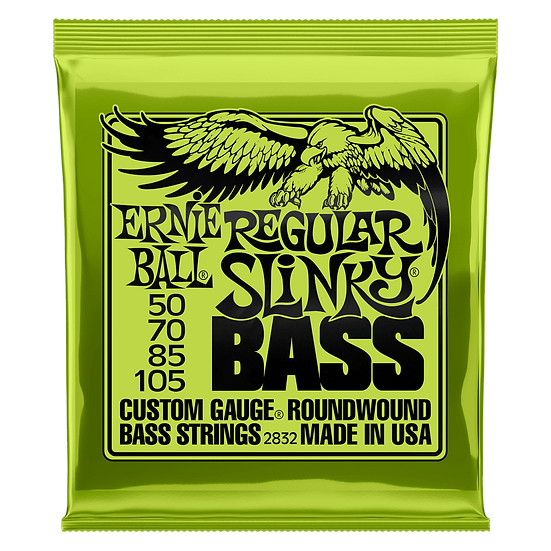 Ernie Ball Regular Slinky 50-105 Bass Strings