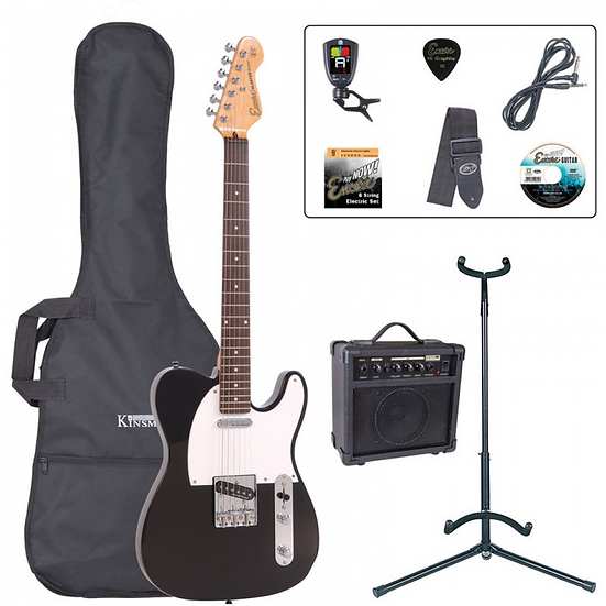 Encore E2 Electric Guitar Package