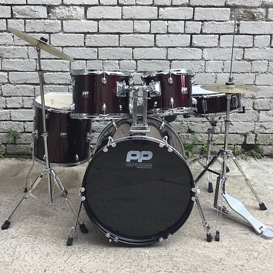 PP Fusion Kit Wine Red (Preowned)