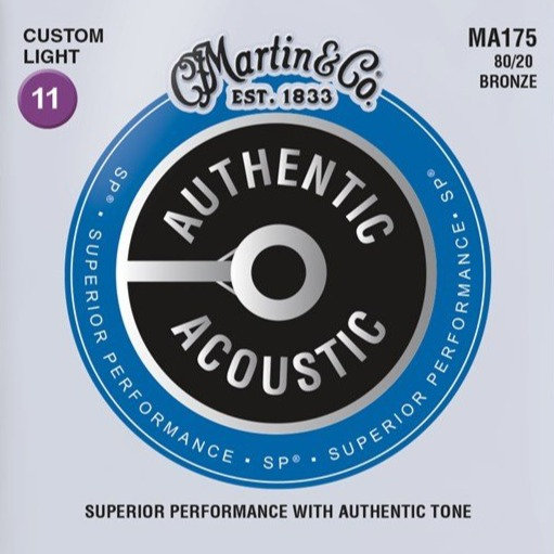Martin MA175 Authentic Acoustic SP 80/20 Bronze 11-52