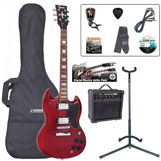 Encore E69 Electric Guitar Package
