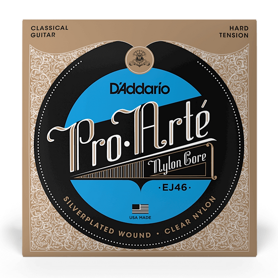 D'Addario EJ46 Pro Arté Hard Tension Classical Guitar Strings