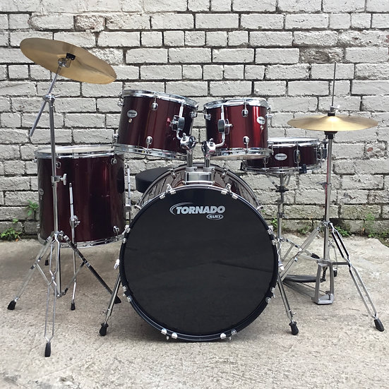 Mapex Tornado Rock Fusion Kit Wine Red (Preowned)