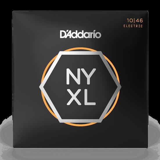 D'Addario NYXL 10-46 Electric Guitar Strings