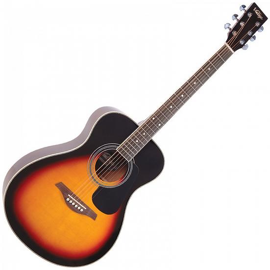 Vintage V300 Acoustic Guitar Package