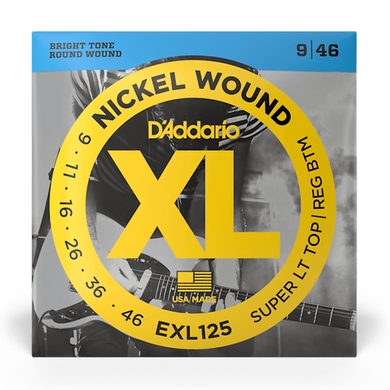 D'Addario EXL125 9-46 Electric Guitar Strings