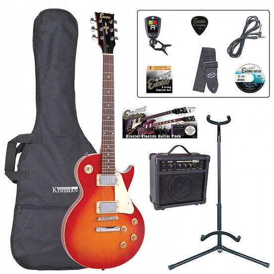 Encore E99 Electric Guitar Package
