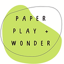 Paper Play and Wonder Logo