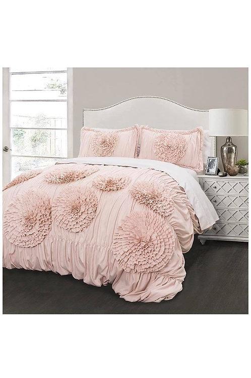 Pink Ruffle Flowers