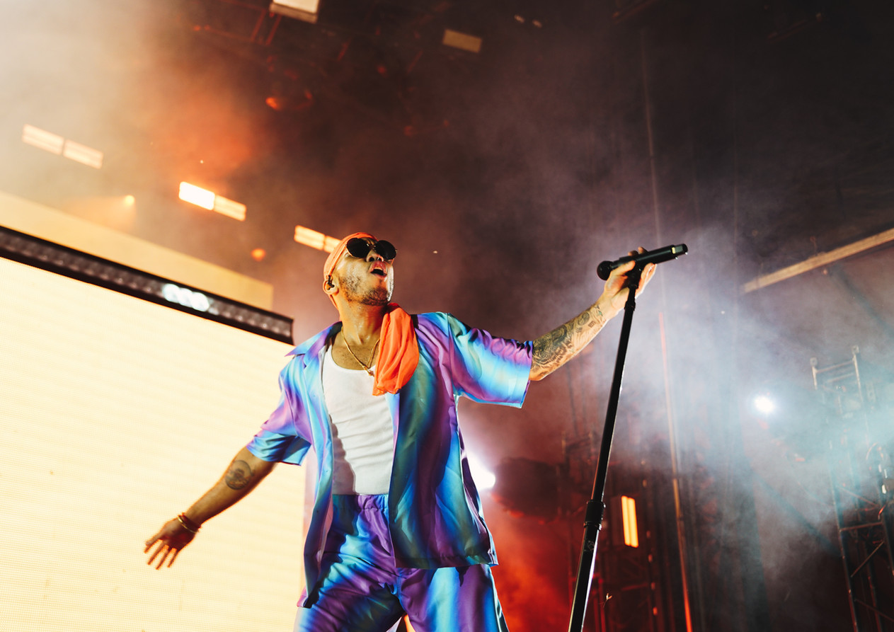 Anderson .Paak at Forecastle Festival 2019