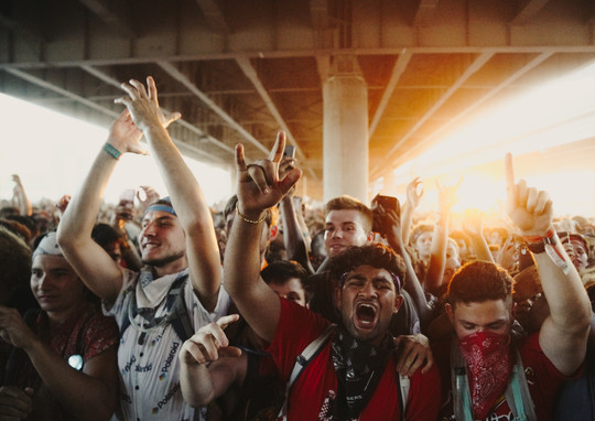 Crowd at Forecastle Festival 2019