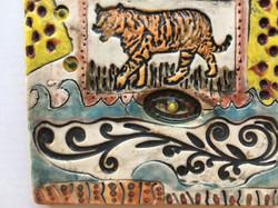 tiger tile detail