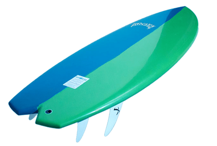 Surfboard & Bag