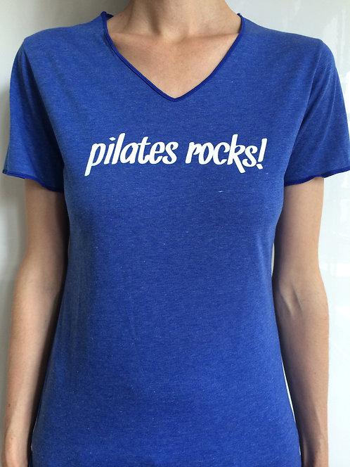 Pilates rocks_blau